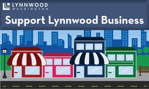 Support Lynnwood Business Graphic