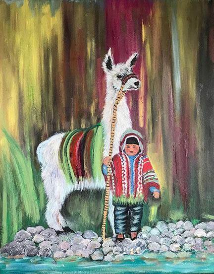 Fresia-Valdivia-Peruvian-child-and-llama.jpg