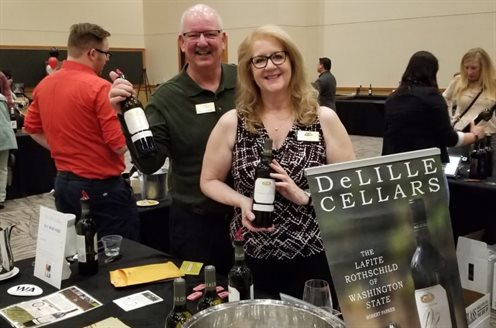 DeLille Cellars at Art of Food and Wine