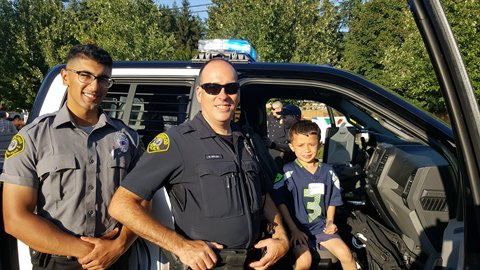 Officer and Explorer at 2019 NNO