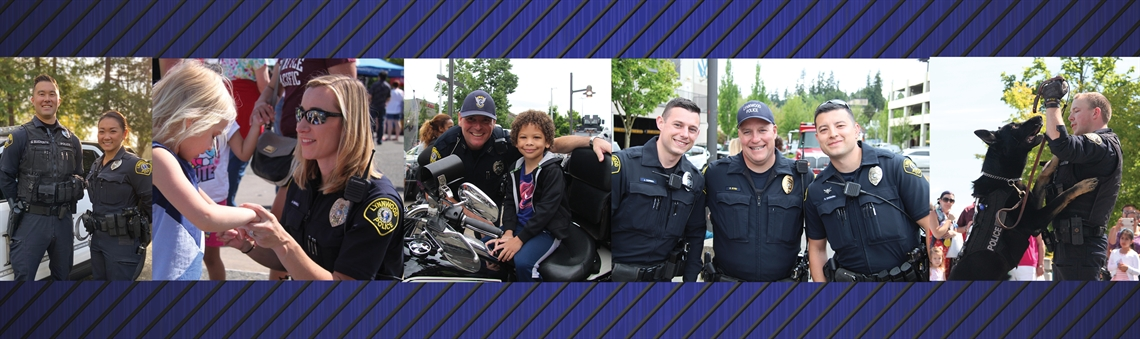 Police Department Web Banner